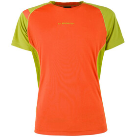 La Sportiva Apex S T-Shirt Men flame/citronelle